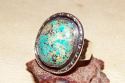 Blue moon turquoise ring size 12